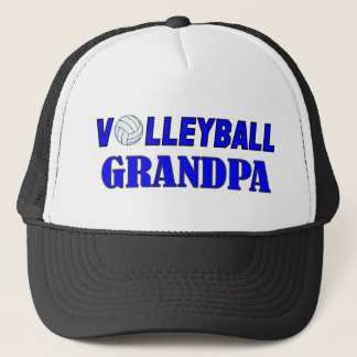 VOLLEYBALL GRANDPA.png Trucker Hat