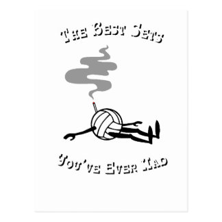 Volleyball-graysmoke Postcard
