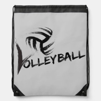 Volleyball Grunge Steaks Backpack