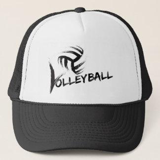 Volleyball Grunge Streaks Trucker Hat