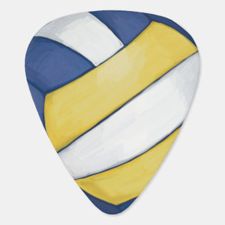 Volleyball Guitar Pick