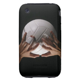 Volleyball Hands iPhone 3 Tough Cover