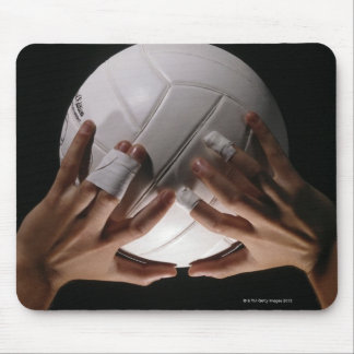 Volleyball Hands Mouse Pad
