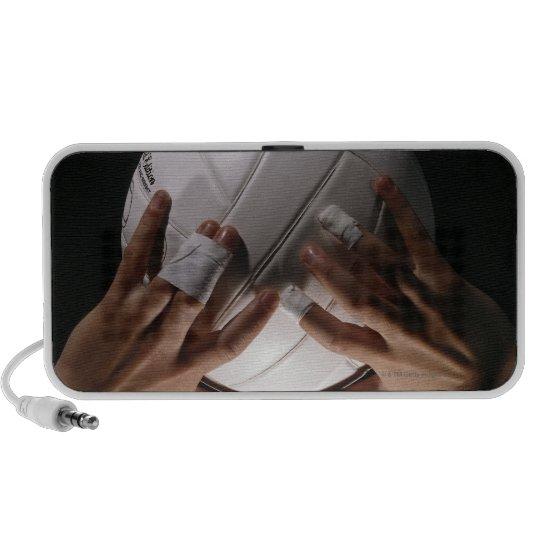 Volleyball Hands Portable Speaker