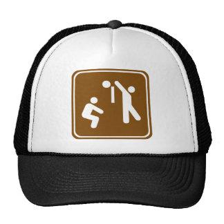 Volleyball Highway Sign Trucker Hat