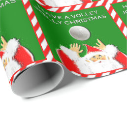 Volleyball Holidays Wrapping Paper