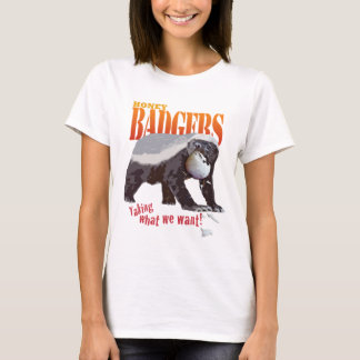 Volleyball Honey Badger T-Shirt