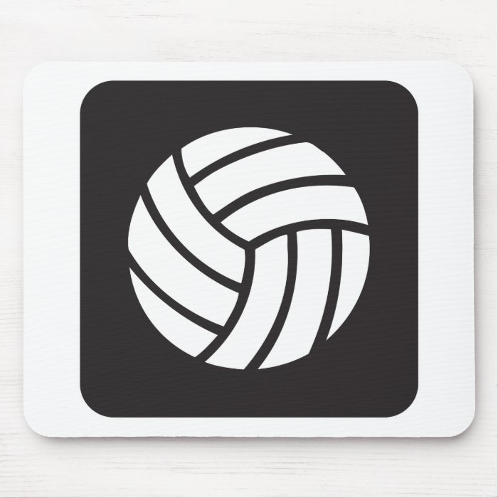 Volleyball Icon Mouse Pad