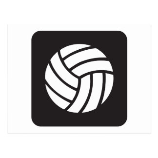 Volleyball Icon Postcard