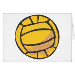 Volleyball in Hand-drawn Style Cards
