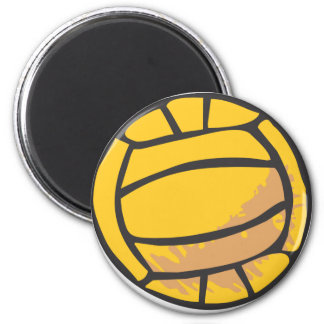 Volleyball in Hand-drawn Style Magnet