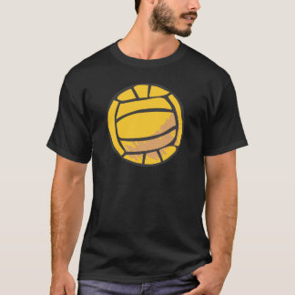 Volleyball in Hand-drawn Style T-Shirt