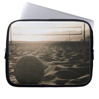 Volleyball in the Sand Computer Sleeves