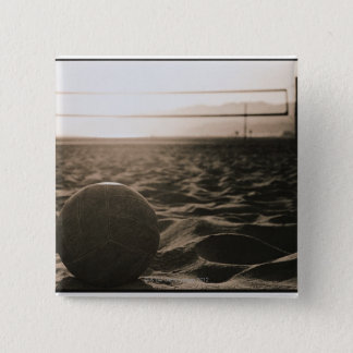 Volleyball in the Sand Pinback Button