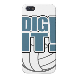 Volleyball iPhone Case: Dig it! iPhone 5 Cases