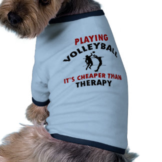 volleyball is cheaper pet t shirt