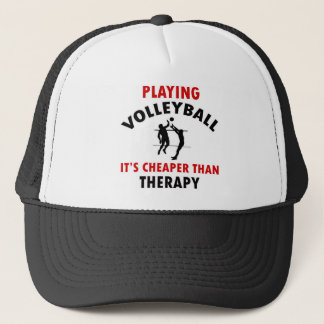 volleyball is cheaper trucker hat