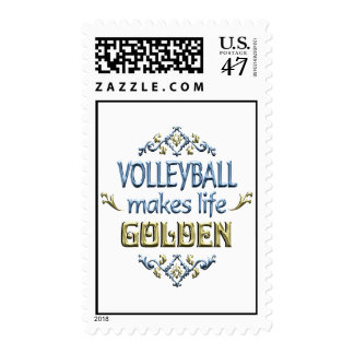 VOLLEYBALL is Golden Postage
