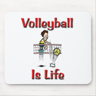 Volleyball Is Life Mouse Pad
