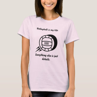Volleyball sayings gifts on zazzle for Life is good volleyball t shirt