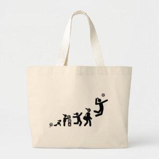 Volleyball Jumbo Tote Bag