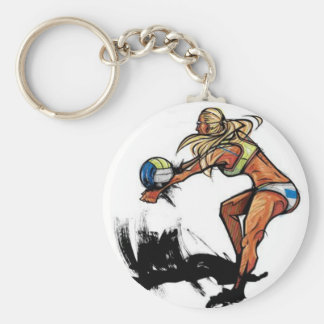 Volleyball - Key Chain