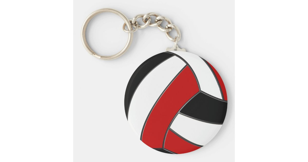 Volleyball Keychains Cheap In Bulk Or Buy 1 Zazzle Com