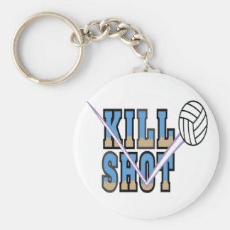 Volleyball: Kill Shot Basic Round Button Keychain