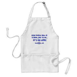 Volleyball Life Adult Apron