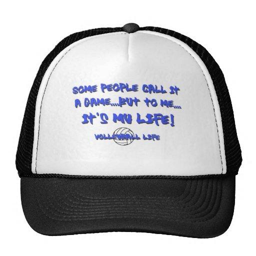 Volleyball Life Trucker Hats