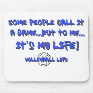 Volleyball Life Mouse Pad