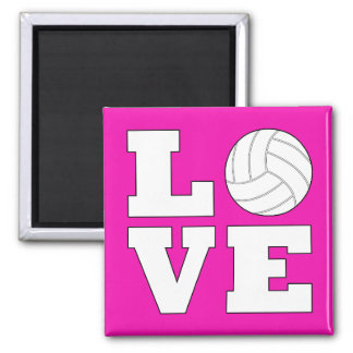 Volleyball LOVE Fridge Magnet