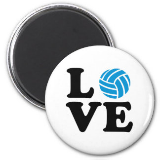 Volleyball love magnet