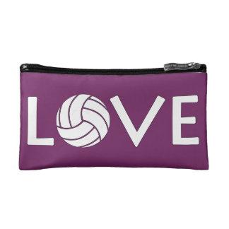 Volleyball Love Makeup Bag