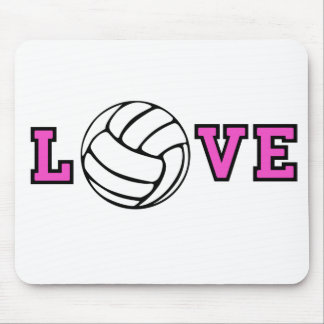 Volleyball Love Mouse Pads