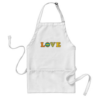 Volleyball Love Sport Adult Apron