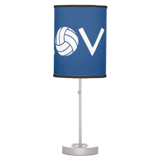 Volleyball Love Table Lamp