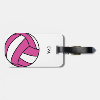 Volleyball Luggage tag add your name