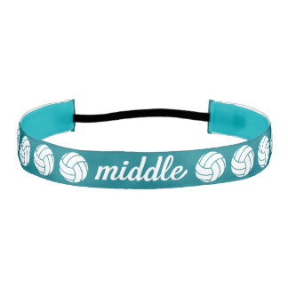 Volleyball Middle | Headband