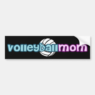 Volleyball Mom Bumper Sticker
