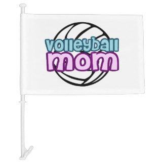 Volleyball Mom Car Flag