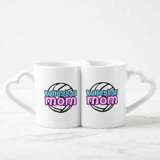 Volleyball Mom Coffee Mug Set