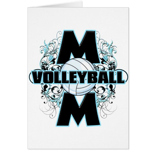 Volleyball Mom (cross).png Card
