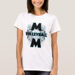 Volleyball Mom (cross).png T-Shirt