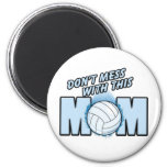 Volleyball Mom Fridge Magnet
