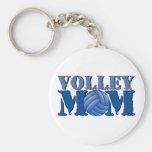 Volleyball mom keychain