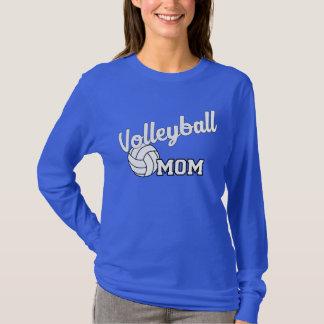Volleyball mom long sleeved shirt - royal blue