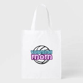 Volleyball Mom Market Tote