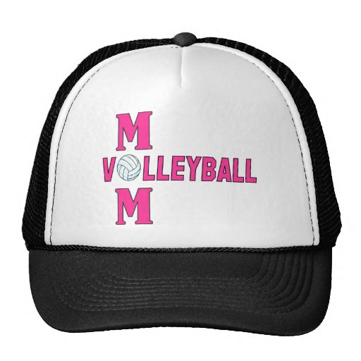 VOLLEYBALL MOM.png Mesh Hats