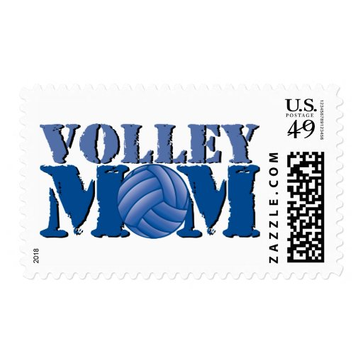 Volleyball mom postage